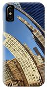 The Bean - 1 - Cloud Gate - Chicago IPhone Case