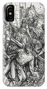 The Bearing Of The Cross From The 'great Passion' Series IPhone Case