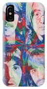 The Beatles Squared IPhone Case