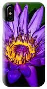 The Beauty Of A Water Liliy IPhone Case