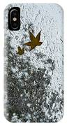 The Beauty Of Autumn Rains - A Vertical View IPhone Case