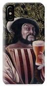 The Beer Drinker IPhone Case
