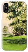 The Belfry Brabazon Golf Course 10th Hole IPhone Case