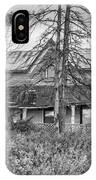 The Best Laid Plans Bw IPhone Case
