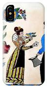 The Betrothal-folk Art IPhone Case