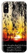 The Bible Jeremiah Twentynine IPhone Case