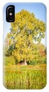 The Big Autumn Poplar IPhone Case