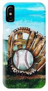 The Big Leagues IPhone Case