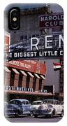 Reno The Biggest Little City In The World 1940s IPhone Case