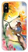 The Bird And The Flower 01 IPhone Case