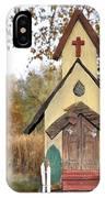 The Birdhouse Kingdom - Lazuli Bunting IPhone Case