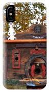 The Birdhouse Kingdom - Red-naped Sapsucker IPhone Case