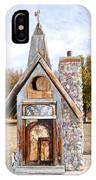 The Birdhouse Kingdom - The American Coot IPhone Case