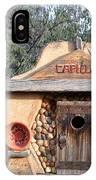 The Birdhouse Kingdom - The Evening Grosbeak IPhone Case