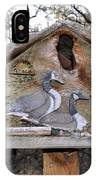 The Birdhouse Kingdom - The Geese A Swimming IPhone Case