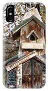 The Birdhouse Kingdom - The Red Crossbill IPhone Case