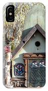 The Birdhouse Kingdom - The Western Tanager IPhone Case