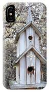 The Birdhouse Kingdom - The Western Wood-pewkk IPhone Case