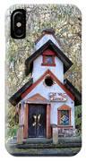 The Birdhouse Kingdom -the Pygmy Nuthatch IPhone Case