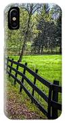 The Black Fence IPhone Case