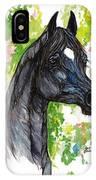 The Black Horse 1 IPhone Case
