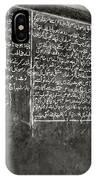 Calligraphy IPhone Case