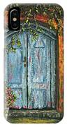 The Blue Door IPhone Case