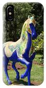 The Blue Horse IPhone Case