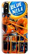 The Blue Nile Jazz Club IPhone Case