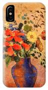 The Blue Vase IPhone Case