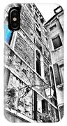 The Blue Window In Venice - Italy IPhone Case