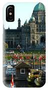 The British Columbia Capitol And Marina IPhone Case