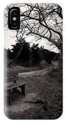 The Brooding Bench IPhone Case