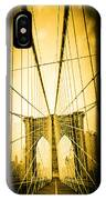 The Brooklyn Bridge New York IPhone Case