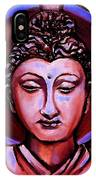 The Buddha In Red And Gold IPhone Case
