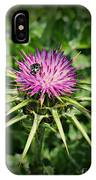 The Bug And The Thistle IPhone Case