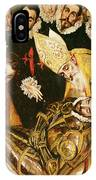 The Burial Of Count Orgaz IPhone Case