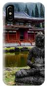 The Byodo-in Temple 1 IPhone Case