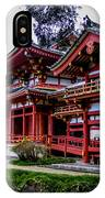 The Byodo-in Temple 2 IPhone Case