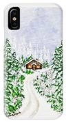 The Cabin IPhone X Case
