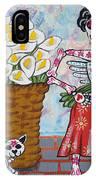 The Calla Lily Flower Vendor IPhone Case