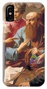 The Calling Of St Matthew  IPhone Case