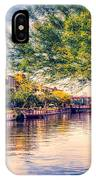 The Canal In Downtown Scottsdale IPhone Case