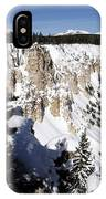 The Canyon In Winter IPhone Case