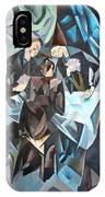The Card Players IPhone Case