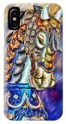 The Carousel Horse IPhone Case