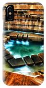 The Cascading Falls - Fort Worth Water Garden  IPhone Case