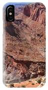 The Castle In Capitol Reef Np IPhone Case