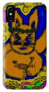 The Cat And His Fish Popart IPhone Case
