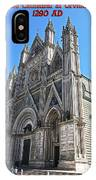 The Cathedral At Orvieto IPhone Case